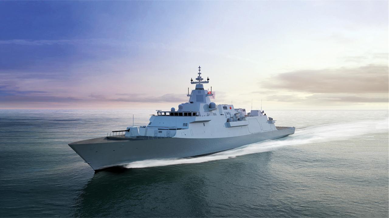 Canadian surface combatant - Large vessel shipbuilding