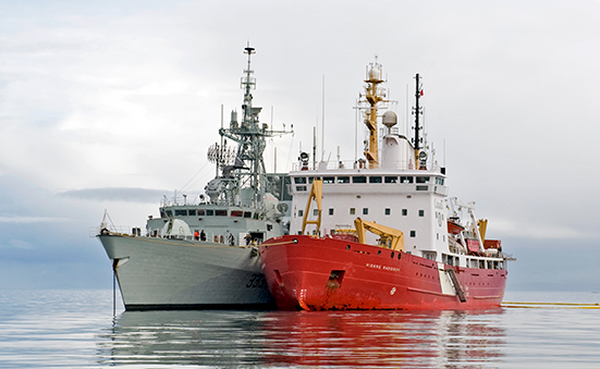Shipbuilding projects to equip the Royal Canadian Navy and the