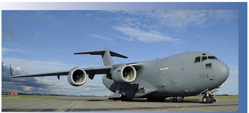 Boeing CC-177 Globemaster de l'Aviation royale canadienne.