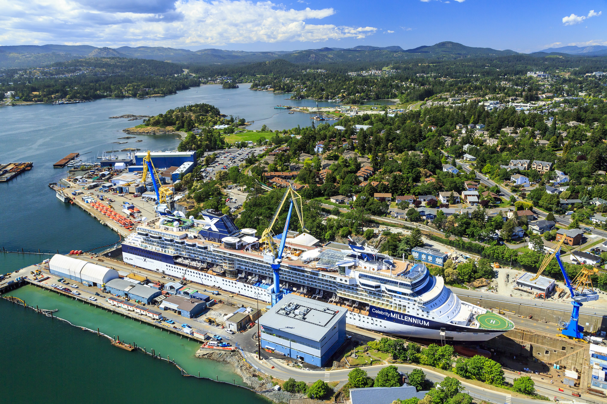 Esquimalt Graving Dock Vessel Design Construction And