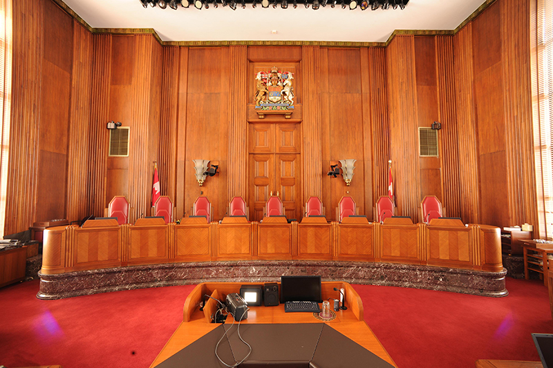 Supreme Court Of Canada Building Rehabilitation Federal