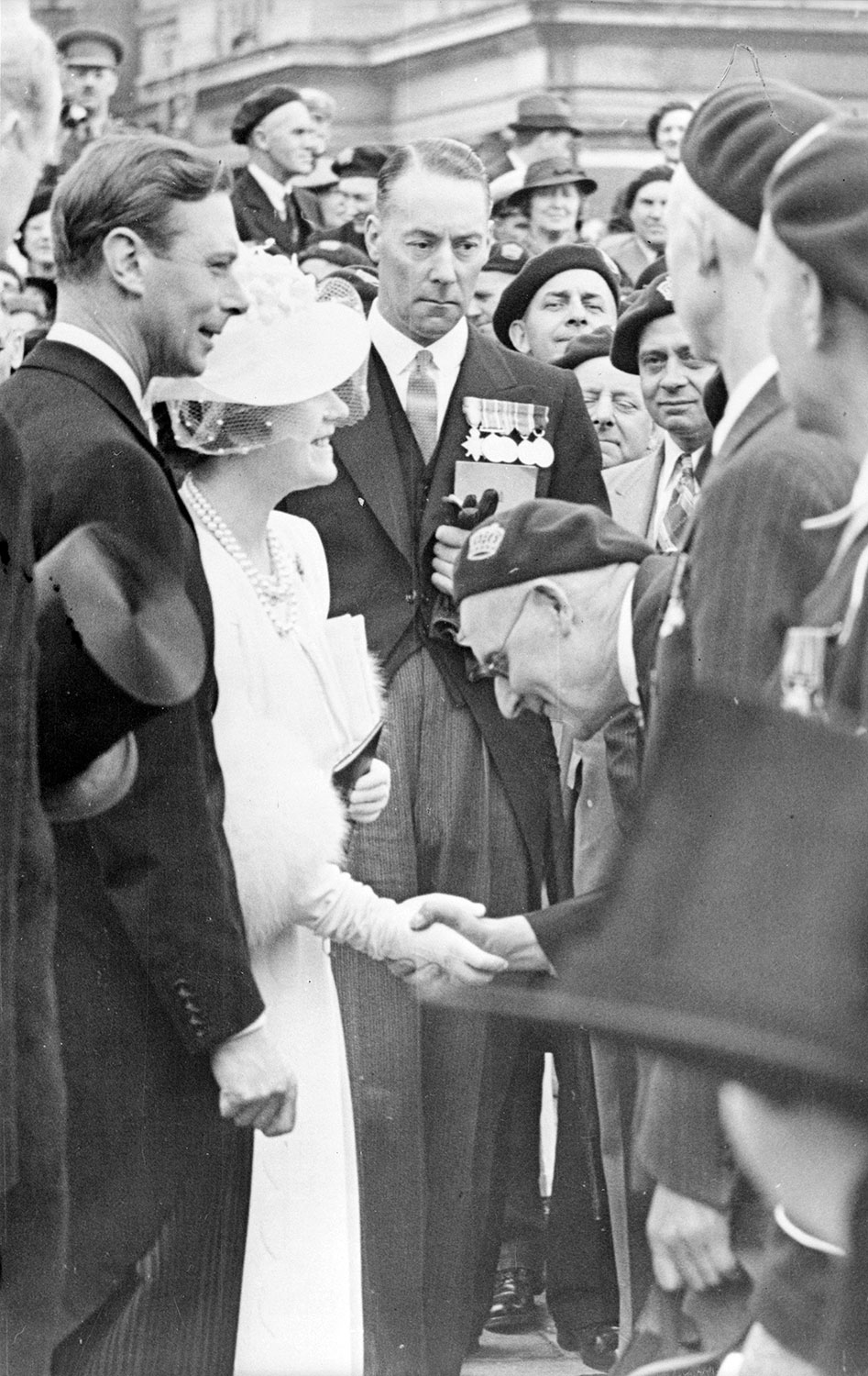 View enlarged image of King George VI and Queen Elizabeth