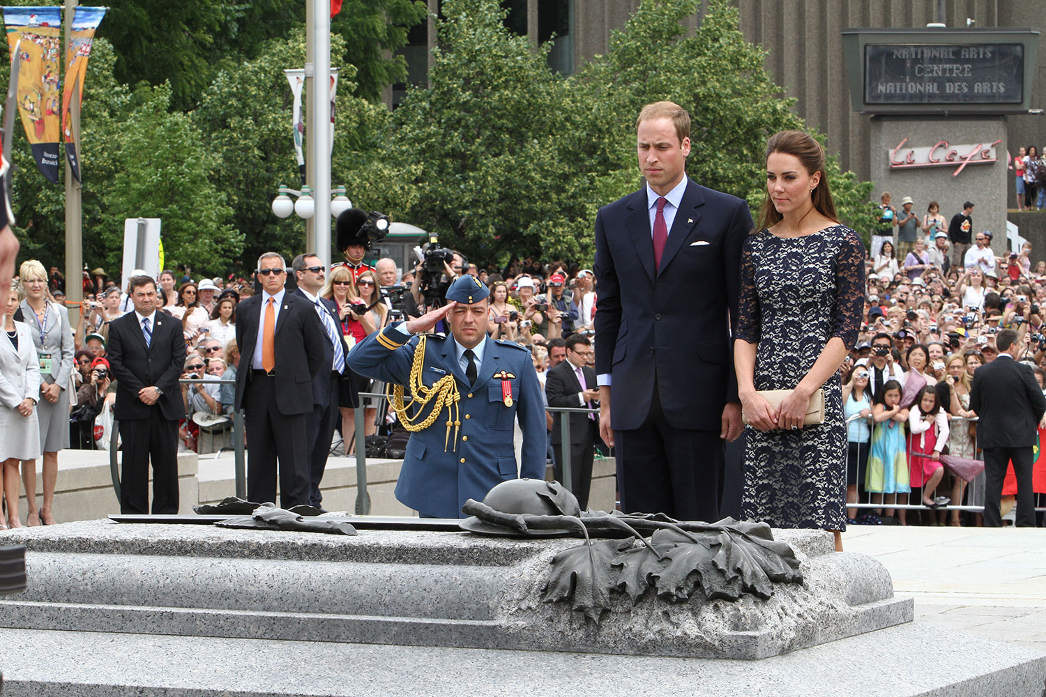 View enlarged image of the Duke and Duchess of Cambridge—Prince William and Catherine Middleton