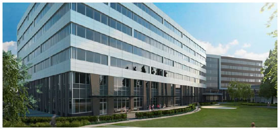 View enlarged image of the CMP E Division Headquarters facility exterior