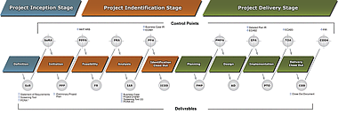 Diagram of the NPMS Roadmap: Business Projects - IT-Enabled - Lite. See long description above Figure 1.