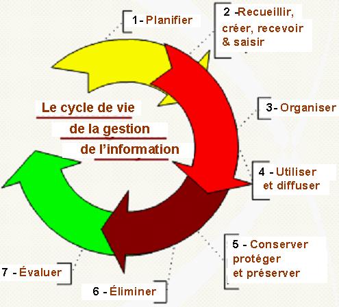 Gestion De L Information Domaines De Connaissances