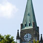 A view of the Peace Tower.  (Click to view enlarged image.)