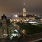 PWGSC prepares Parliament Hill for Canada Day festivities. (Click to view enlarged image.)