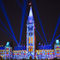 Northern Lights sound and light show illuminates Parliament Hill's Centre Block. Credit: Canadian Heritage (Click to view enlarged image.)