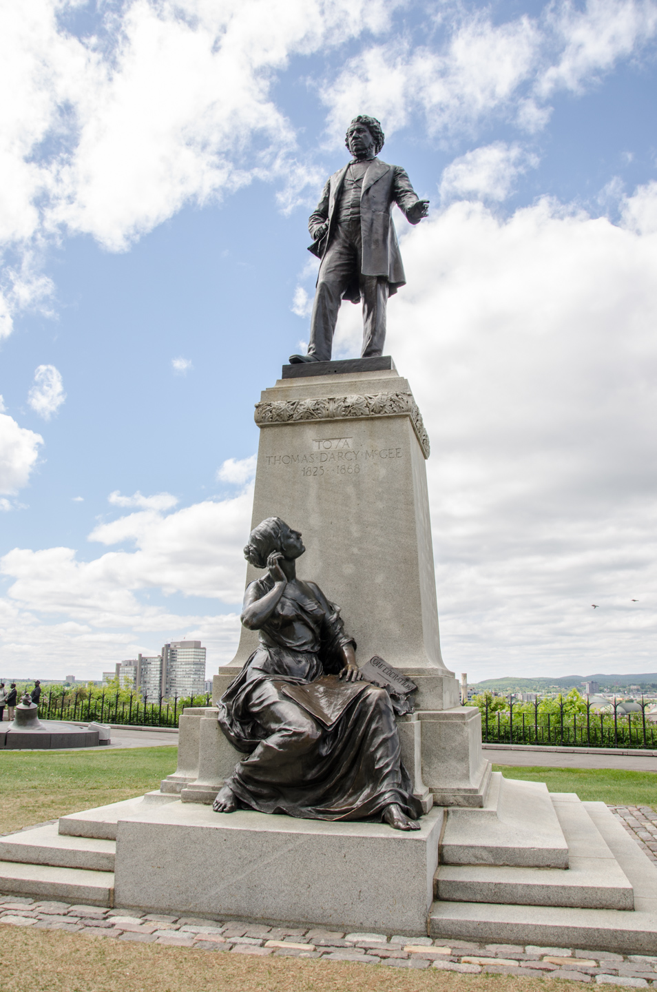 View enlarged image of the Thomas D'Arcy McGee statue