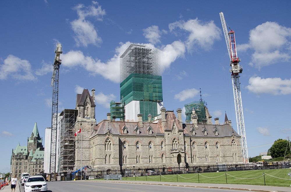 View enlarged image of The rehabilitation of the southeast tower