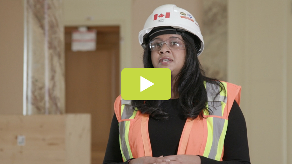 View the video: Sharlene Goveas: Protecting the Centre Block's valuable heritage assets