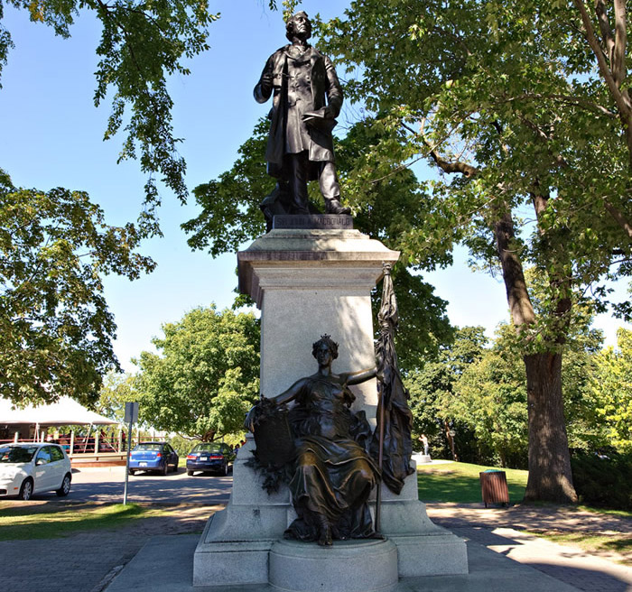 View enlarged image of the Sir John A. Macdonald statue