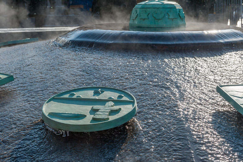 View enlarged image of the Centennial Flame