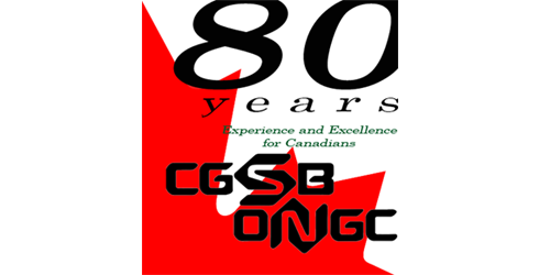 80 years Experience and Excellence for Canadians CGSB ONGC