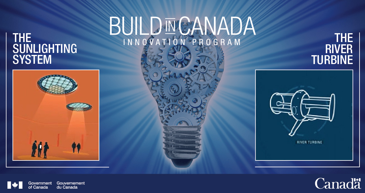 Build in Canada Innovation Program - Text version below the image